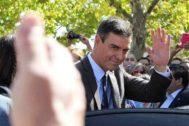 El presidente del Gobierno en funciones, Pedro Sánchez, este jueves en Extremadura.