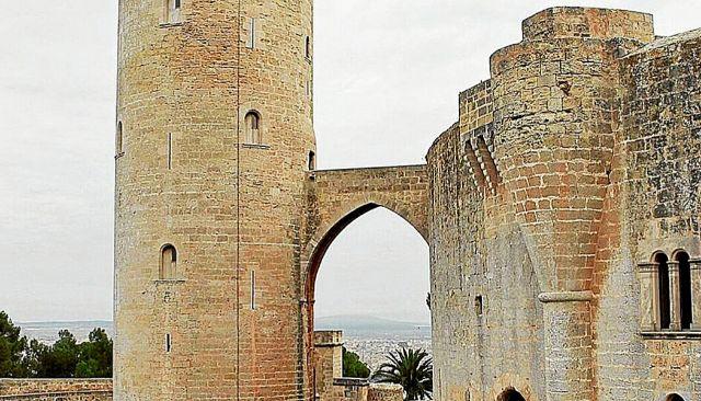 Imagen de la Torre del Homenaje del Castillo de Bellver
