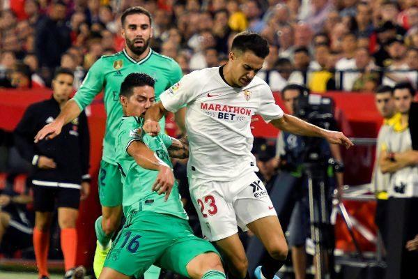 GRAF7073. SEVILLA.- El defensa del Sevilla FC Sergio...