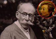 El prestigioso escultor Mariano Benlliure y su supuesta nieta, Lucrecia Benlliure Galán