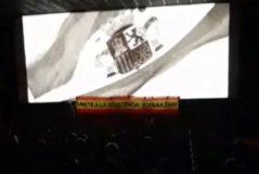 La ultraderecha revienta la proyección de la película de Amenábar sobre Unamuno