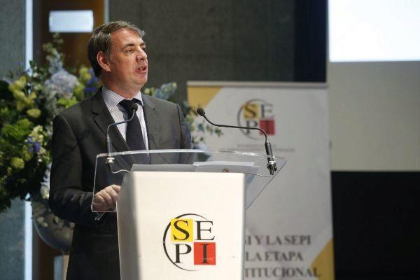 Vicente Fernández, ex presidente de la SEPI.