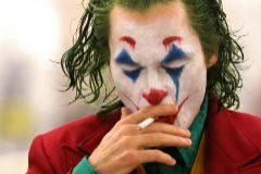El actor, caracterizado como Joker, su último papel.