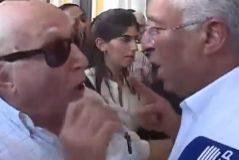 <HIT>Antonio</HIT> <HIT>Costa</HIT> enfurecido se enfrenta a un anciano al mencionarle la gestión con los incendios. Portugal. FOTO: Captura CM JORNAL