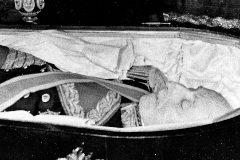 El cadáver de Franco.