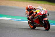 Buriram (Thailand).- Spanish MotoGP rider <HIT>Marc</HIT> <HIT>Marquez</HIT> of Repsol Honda Team in action during the third free practice session of the Motorcycling Grand Prix of Thailand at Chang International Circuit, Buriram province, Thailand, 05 October 2019. (Motociclismo, Ciclismo, Tailandia) EPA/