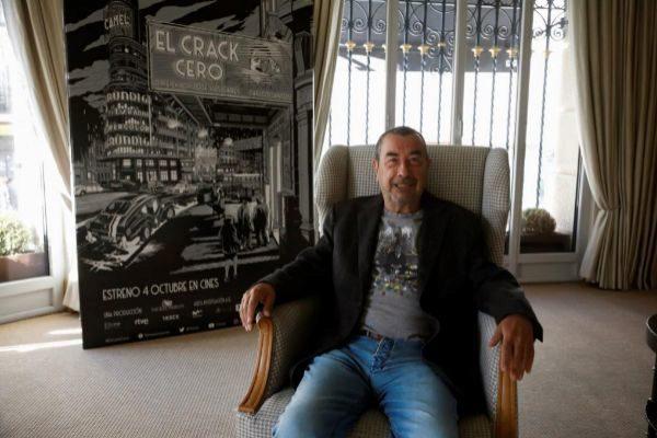José Luis Garci, director de cine.