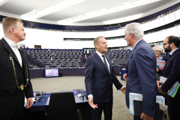President <HIT>Tusk</HIT> at the European Parliament Outcome of the...
