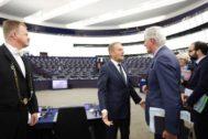 President <HIT>Tusk</HIT> at the European Parliament Outcome of the April European Council (Art. 50) (17/04/19, Strasbourg) From left to right: Mr Donald <HIT>TUSK</HIT>, President of the European Council; Mr Michel BARNIER, Brexit EU Chief Negotiator. Copyright: European Union. FOTO: DARIO PIGNATELLI