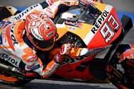 Marc Márquez, durante el GP de Tailandia.