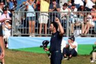 Jon Rahm, tras su tercer recorrido en el Open de España.