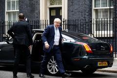 El premier, Boris Johnson, a su llegada a Downing Street.