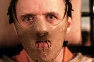 Hannibal El caníbal, con la máscara-bozal que lo convirtió en icono del cine de terror.