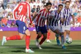 Al Atlético no le despierta ni el tridente en Valladolid
