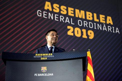 """Bartomeu: """"El Barça estará al lado de lo que quiera la mayoría del pueblo de Cataluña"""""""