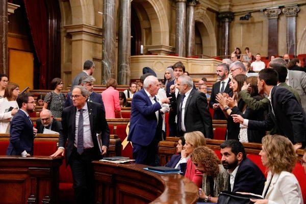 SANTI COGOLLUDO 26.09.2019 Barcelona, Catalunya Pleno de política...