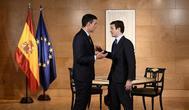 Pedro Sánchez y Pablo Casado durante la reunión que mantuvieron el pasado mes de julio en Madrid