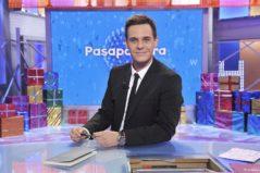 Christian Gálvez, presentador de 'Pasapalabra', en el plató del concurso.