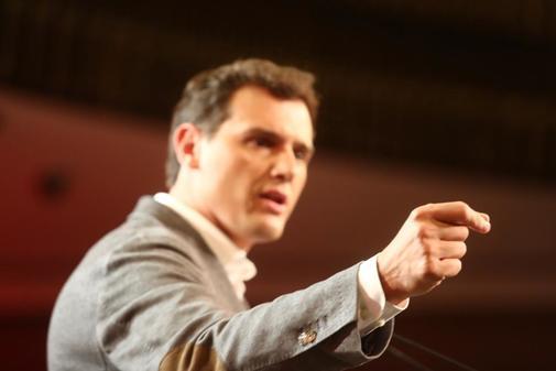 El presidente de Ciudadanos, Albert Rivera, presenta un decalogo de...