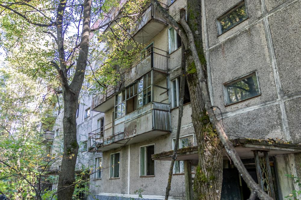 Con el gran éxito de la serie Chernobyl de HBO, la ciudad...