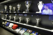 Imagen del museo del Real Madrid.