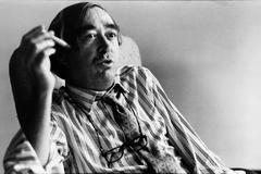 El periodista Pepe Oneto, durante una entrevista en 1992.