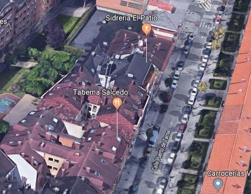 La calle Puerto de Tarna de Oviedo, donde sucedieron los hechos.