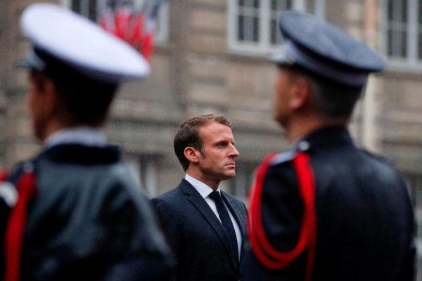 Macron pide construir una