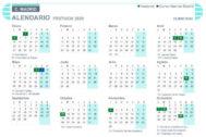 Calendario laboral Madrid 2020