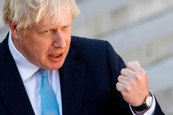 Tusk pierde la paciencia con Boris Johnson: