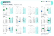 Calendario laboral Cataluña 2020
