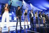 Algunos de los concursantes de la última edición de 'Operación Triunfo', durante una de las galas.