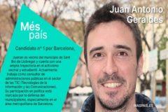Errejón elige para liderar Barcelona a un candidato que se presentó en una lista de los comunes y la CUP