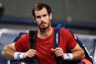 Murray, tras la derrota ante Fognini en Shanghai.