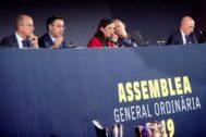 Asamblea de Compromisarios del FC Barcelona.