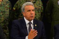 El presidente ecuatoriano, Lenín Moreno.