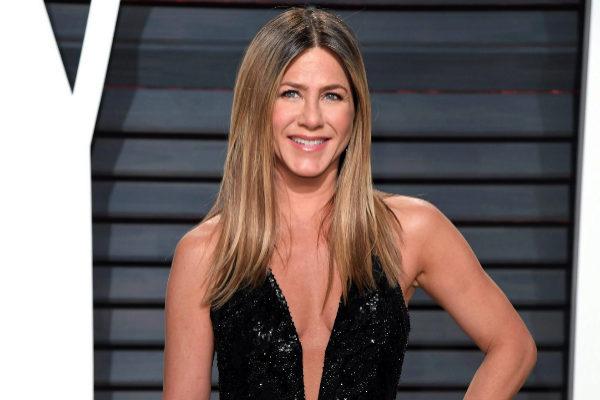 Jennifer Aniston, en el 25 aniversario de 'Friends'.