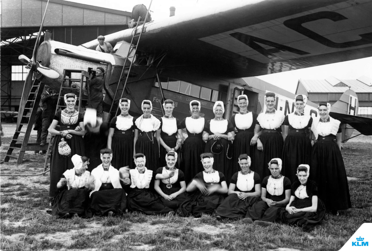 En 1919 se fundó se fundó KLM Royal Dutch Airlines. Cien años...