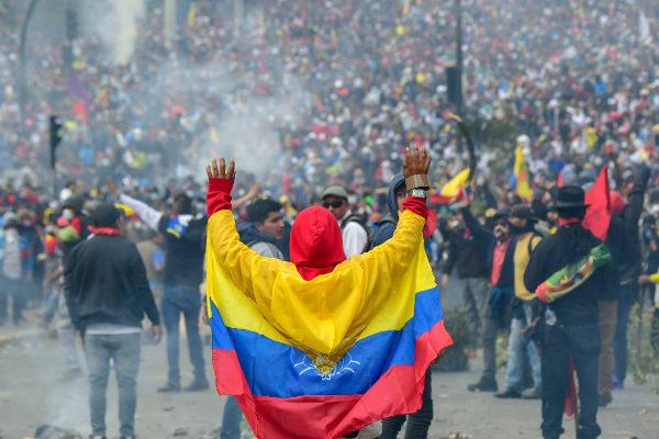 Otro vendaval en Ecuador