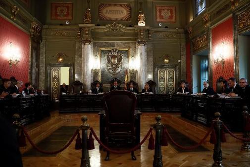 Vista pública celebrada el pasado 18 de septiembre en el Tribunal...