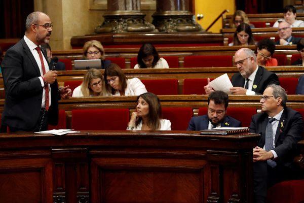 GRAFCAT4739. BARCELONA 9/10/2019.- El conseller de Interior de la...