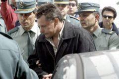 Tony King, el asesino de Rocío Wanninkhof, cuando fue trasladado de prisión en 2004.