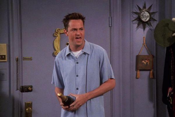 Matthew Perry se negó a grabar de Friends