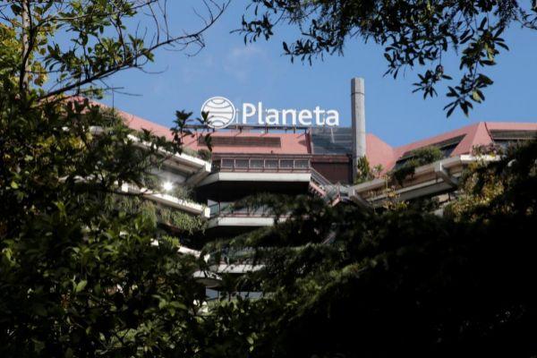 Sede de la editorial Planeta, en Barcelona.