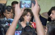 La ministra de Justicia en funciones, Dolores Delgado, en un acto, en Cádiz.