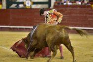 Miguel Senent 'Miguelito', que este miércoles cortó una oreja en Valencia.