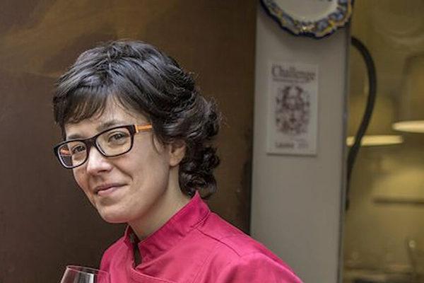 Carmen Moragrega, copropietaria de la taberna Verdejo.