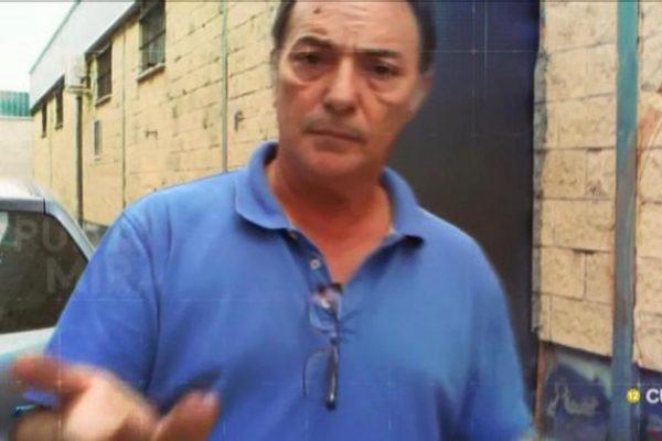 José Antonio Marín, dueño de Magrudis, en un momento del reportaje...