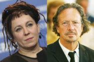 Olga Tokarczuk y Peter Handke, ganadores del Nobel de Literatura 2018 y 2019.