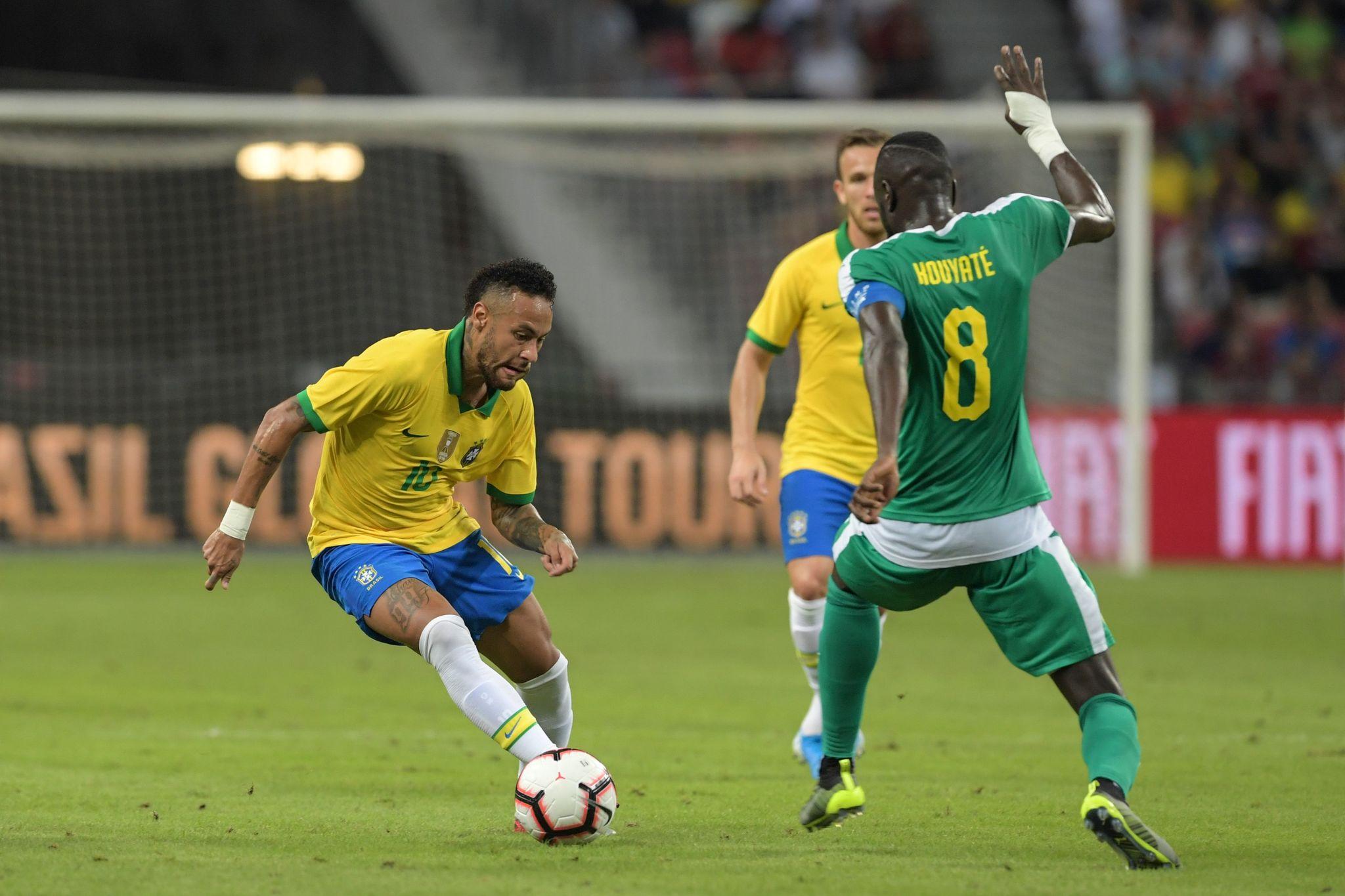 Amargo centenario de Neymar con Brasil